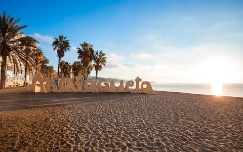 A trip to Malaga wouldn't be complete without escaping the concrete for a spot of golden sand - such as Playa de Malagueta - Credit: karp85