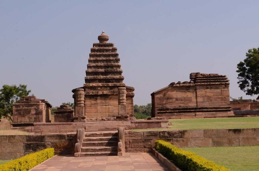 """<p>We stop by at the Gauri temple, which was essentially a shrine dedicated to Vishnu and probably built in the 12th century. It is today a Virupaksha temple and the name """"Gauri"""" is attributed to one of the female forms that adorn the mandapa of the temple.</p>"""