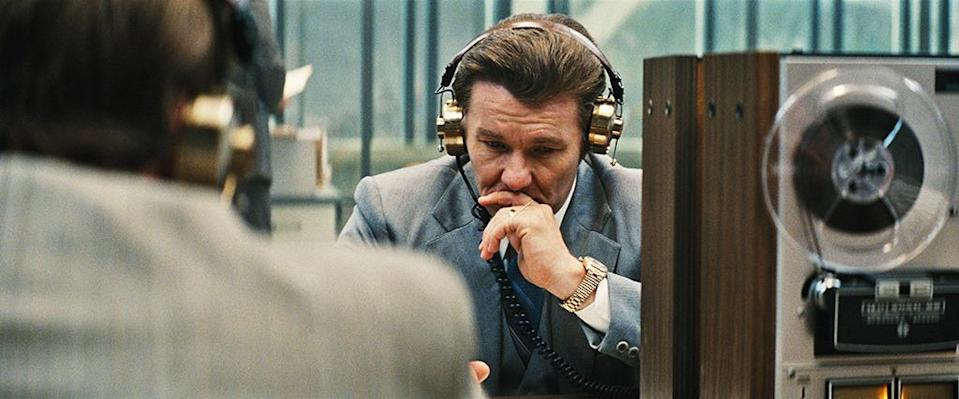 """<p>Edgerton is another fringe contender who has had a stellar year. On top of writing, directing, and co-starring in the creepy sleeper hit <i>The Gift,</i> the Australian actor held his own against Johnny Depp's blue-eyed terror Whitey Bulger (playing the mob boss's corrupt inside man, John Connolly) and nailed the Boston accent like <a href=""""https://www.yahoo.com/movies/bostonian-customs-agent-to-joel-edgerton-dont-129362132652.html?soc_src=mail&soc_trk=ma%22%20%5Ct%20%22_blank"""" data-ylk=""""slk:his well-being depended on it;outcm:mb_qualified_link;_E:mb_qualified_link;ct:story;"""" class=""""link rapid-noclick-resp yahoo-link"""">his well-being depended on it</a>. </p>"""