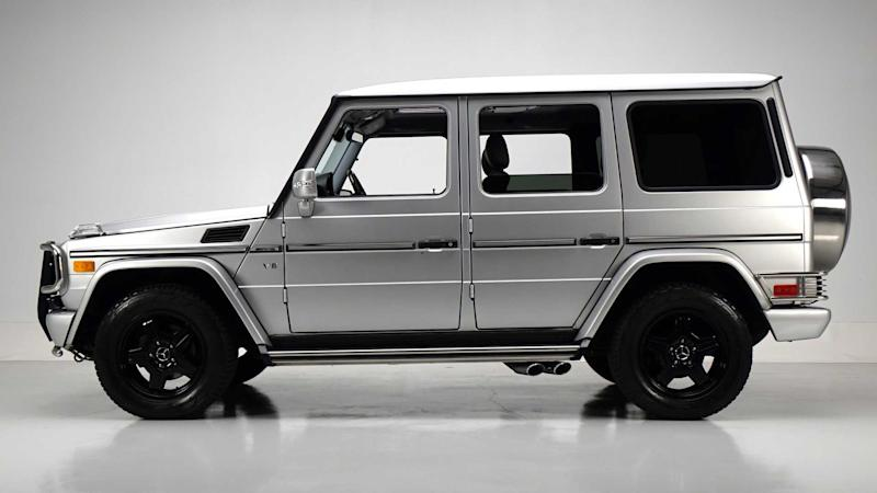 Boxy and Beautiful: 2004 Mercedes-Benz G55 AMG