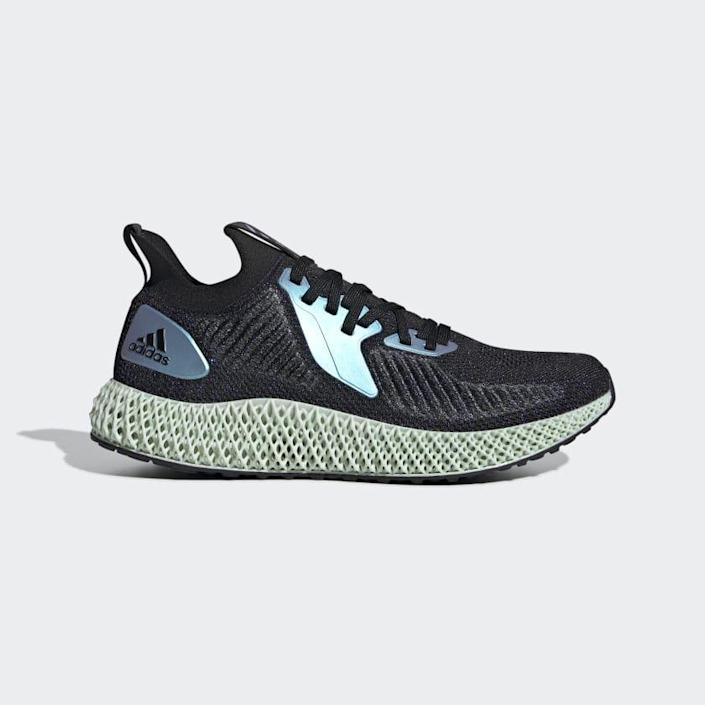 """<p><strong>adidas</strong></p><p><strong>$159.90</strong></p><p><a href=""""https://www.amazon.com/adidas-ALPHAEDGE-Iridescent-Running-Black/dp/B081VLGR7B/?tag=syn-yahoo-20&ascsubtag=%5Bartid%7C2140.g.19966106%5Bsrc%7Cyahoo-us"""" rel=""""nofollow noopener"""" target=""""_blank"""" data-ylk=""""slk:Shop Now"""" class=""""link rapid-noclick-resp"""">Shop Now</a></p><p>The perfect mix of cute and comfy, these sneakers by Stella McCartney and Adidas provide an ultra-secure fit to keep you moving, whether you're making it through Zumba or circuit training. The knit upper is as cozy as it is breathable, BTW.</p><p><strong>Rave review: </strong>""""These were such a great purchase! I started walking seven miles per day four days a week and these have saved my feet! The quality is great and the comfort is wonderful. And on top of it, they're stylish!"""" <br>—CatW88, <em><a href=""""https://go.redirectingat.com?id=74968X1596630&url=https%3A%2F%2Fwww.adidas.com%2Fus%2Falphaedge-4d-shoes%2FFV6106.html&sref=https%3A%2F%2Fwww.womenshealthmag.com%2Ffitness%2Fg19966106%2Fcross-training-sneaker-guide%2F"""" rel=""""nofollow noopener"""" target=""""_blank"""" data-ylk=""""slk:adidas.com"""" class=""""link rapid-noclick-resp"""">adidas.com</a></em></p>"""