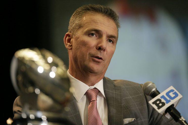 The Big Ten has made major improvements since Urban Meyer arrived in 2012. (AP Photo/G-Jun Yam)