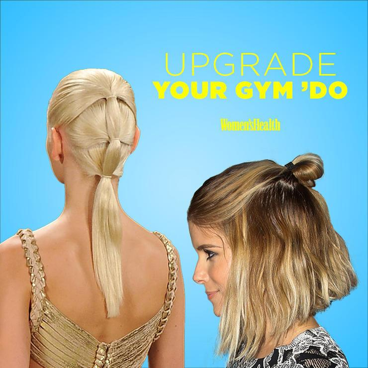 5 Cute And Functional Ways To Wear Your Hair To The Gym