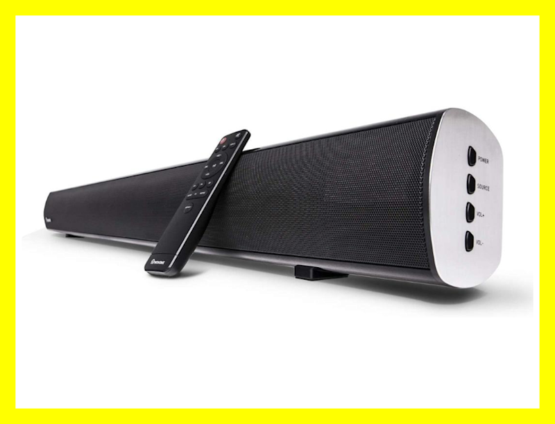 This Wohome TV Sound Bar is on sale for $76, or $74 off. (Photo: Amazon)