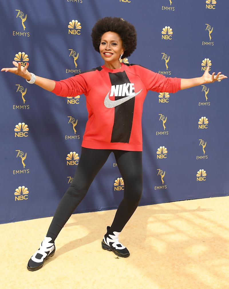 LOS ANGELES, CA - SEPTEMBER 17: Jennifer Lewis attends the 70th Emmy Awards at Microsoft Theater on September 17, 2018 in Los Angeles, California.