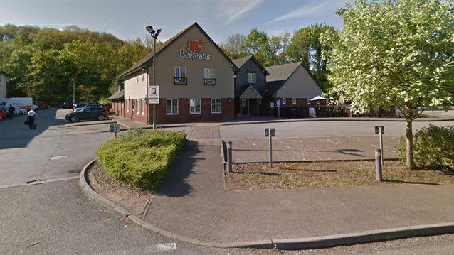 The Beefeater restaurant in Coldra, southeast Wales. Source: Google Maps