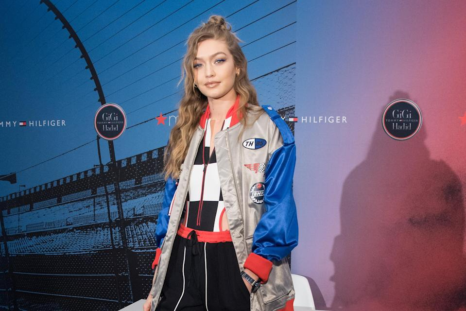 Gigi Hadid poses for the cover of Italian Vogue, but fans don't recognise her. [Photo: Getty]