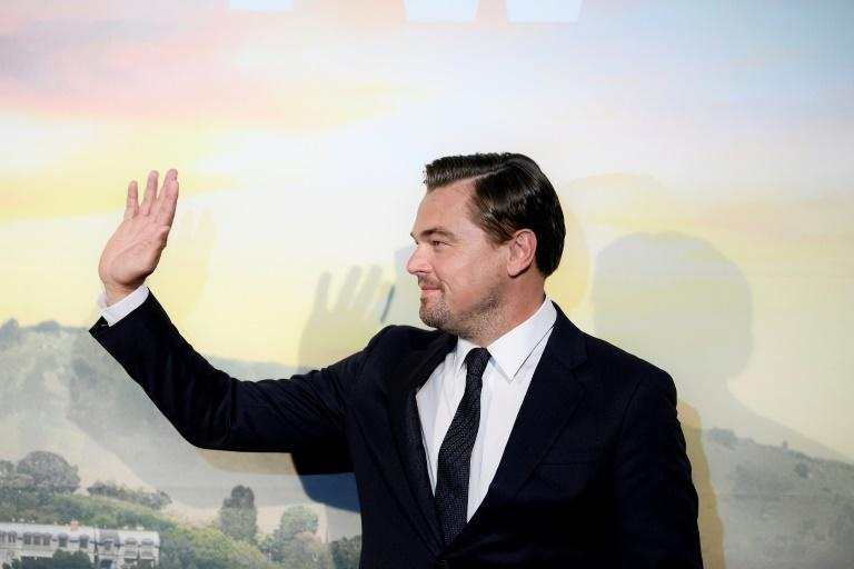 US actor Leonardo Di Caprio is among a group of celebrities lending their backing to a climate change initiative sponsored by the TED conference
