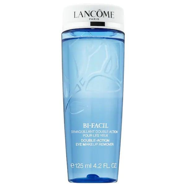 <p>Beloved for decades, this no-rinse <span>Lancôme Bi-Facil Double-Action Eye Makeup Remover</span> ($15-$40) eliminates even waterproof mascara while still being gentle enough for sensitive skin and contact-lens wearers. It's already earned an average 4.7-star rating from other Sephora shoppers, and is now offered in a <span>Lancôme Bi-Facil Home and Away Duo</span> ($52) with a jumbo 13.5-ounce and a portable 1.7-ounce one, too.</p>