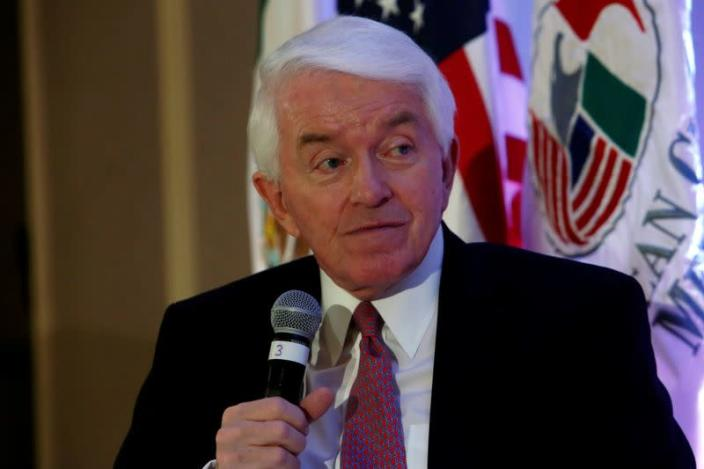FILE PHOTO - U.S. Chamber of Commerce President and CEO Thomas Donohue in Mexico City