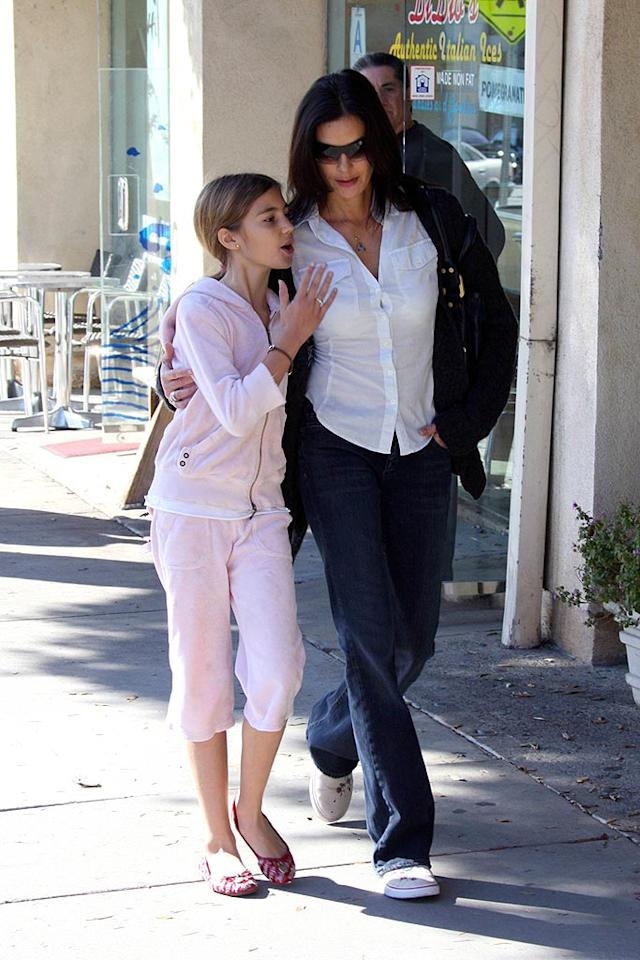 """""""Desperate Housewife"""" Teri Hatcher dotes on daughter Emerson Rose. Ginsburg-Spaly/<a href=""""http://www.x17online.com"""" target=""""new"""">X17 Online</a> - December 8, 2007"""