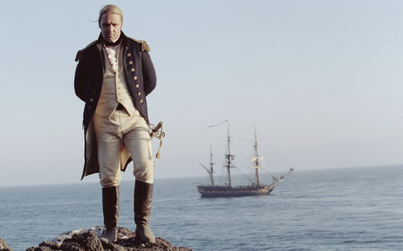 Russell Crowe in Master and Commander: The Far Side of the World. (20th Century Fox)