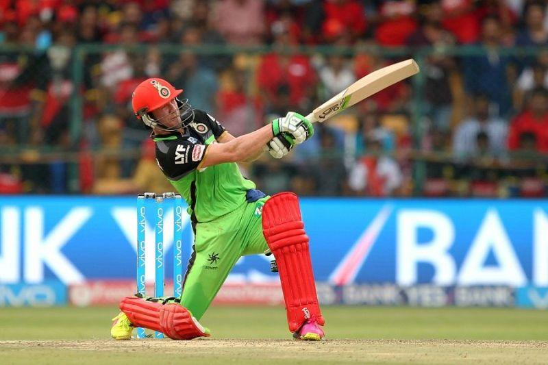 AB de Villiers in action for Royal Challengers Bangalore