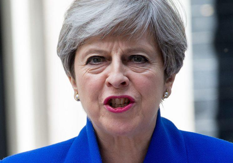 Theresa May has struck a deal with the DUP to prop up her government (Rex)