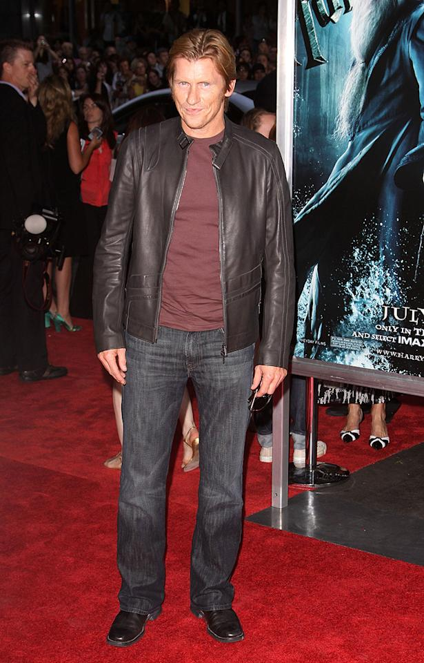 """<a href=""""http://movies.yahoo.com/movie/contributor/1800019683"""">Denis Leary</a> at the New York premiere of <a href=""""http://movies.yahoo.com/movie/1809791044/info"""">Harry Potter and the Half-Blood Prince</a> - 07/09/2009"""