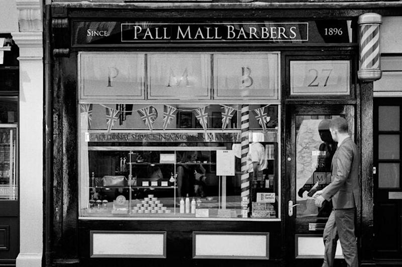 Top-rated: The barber shop has branches across central London. (Dan Davies)
