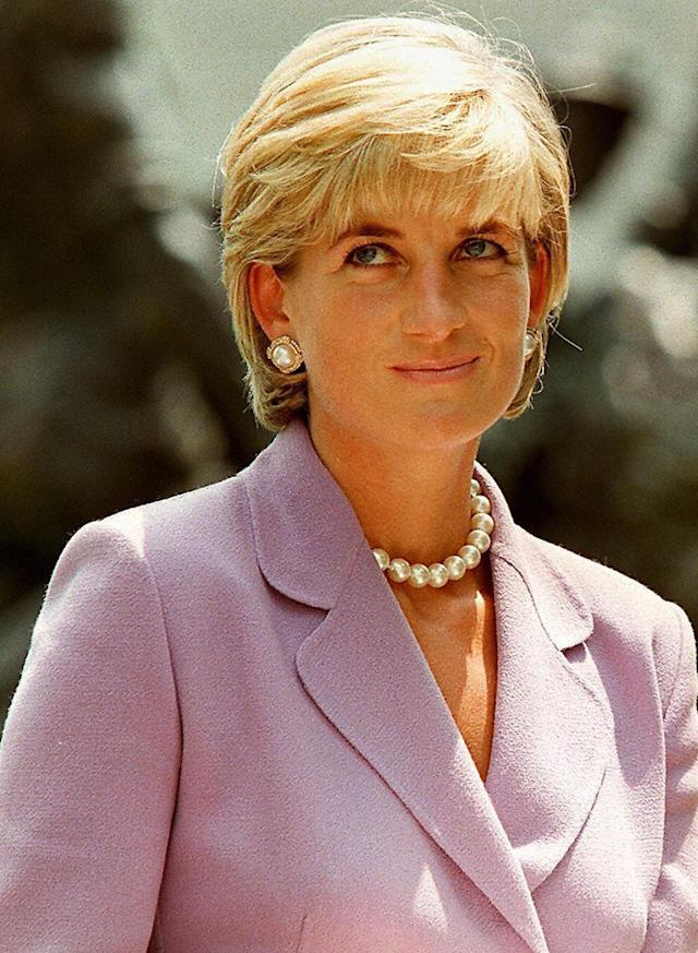 Princess Diana, pictured two months before her death in 1997, is unlikely to RSVP. (Photo: Jamal A. Wilson/AFP/Getty Images)
