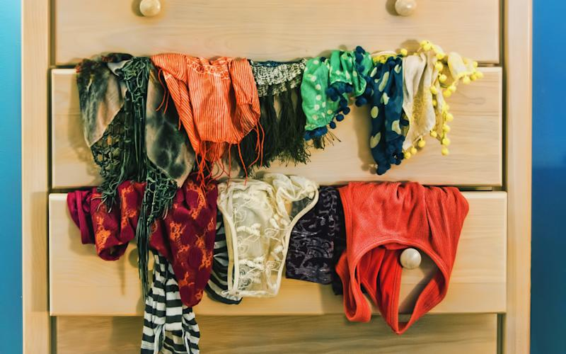 The art of collecting underwear - © 2013 Janice Lin