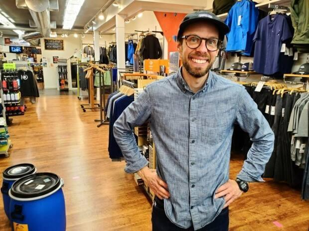 Trevor Norgan, manager of Regina's Fresh Air Experience says summer items are going quickly and some are only available by preorder.