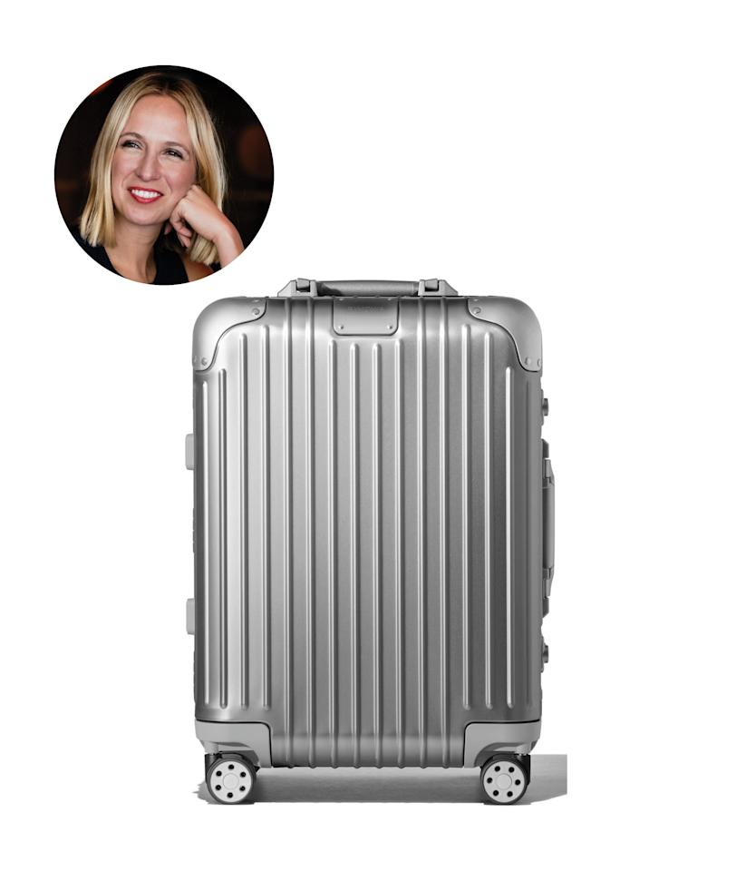 """$1050, Nordstrom. <a href=""""https://shop.nordstrom.com/s/rimowa-original-cabin-22-inch-packing-case/5102644/full?"""">Get it now!</a>"""