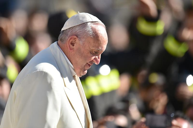 """""""The people of God, the Church, does not need dirty money,"""" Pope Francis said at the end of his weekly general audience at the Vatican on March 2, 2016"""