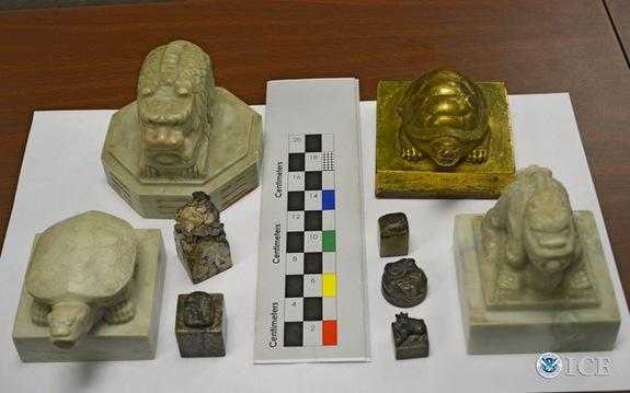 Feds Seize Korean Royal Seals Taken During Wartime