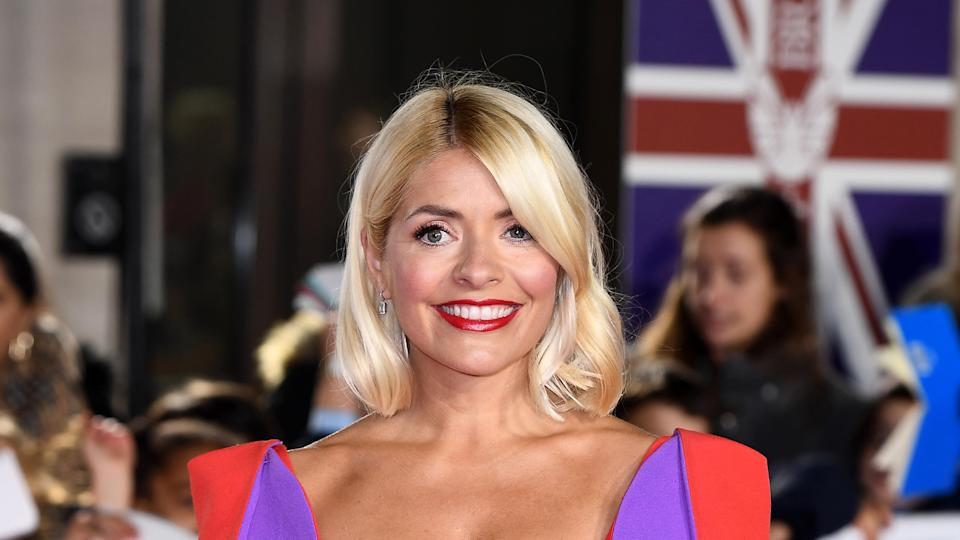 Holly Willoughby attends Pride Of Britain Awards 2019 at The Grosvenor House Hotel on October 28, 2019 in London, England