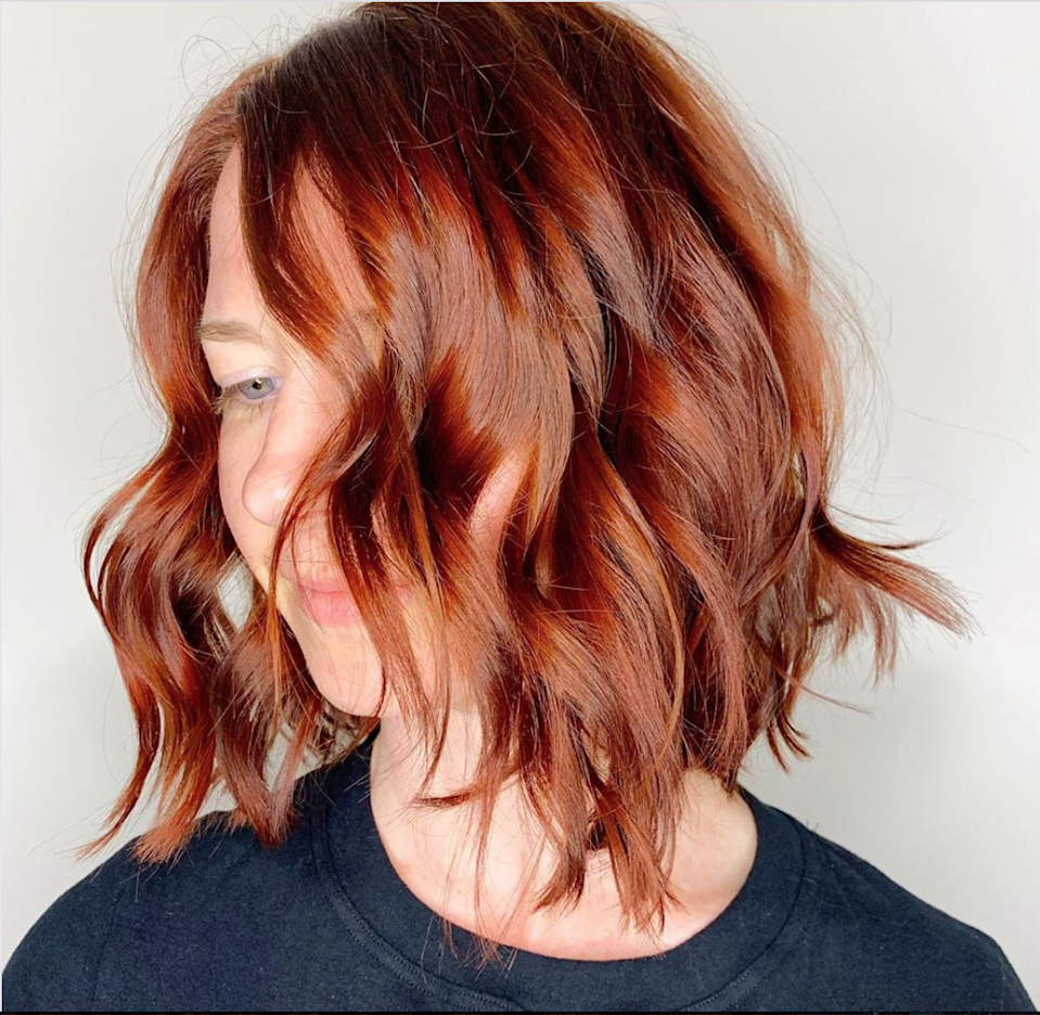 """Get ready to go a little shorter. Brittany Archer, hairstylist at Austin's <a href=""""https://www.instagram.com/karusalonatx/"""" rel=""""nofollow noopener"""" target=""""_blank"""" data-ylk=""""slk:KaRu Salon"""" class=""""link rapid-noclick-resp"""">KaRu Salon</a>, says bobs have been trending this year in Texas. Make sure to ask for a choppy bob with movement, since """"the personality of this hairstyle is stylish and carefree,"""" says Archer."""