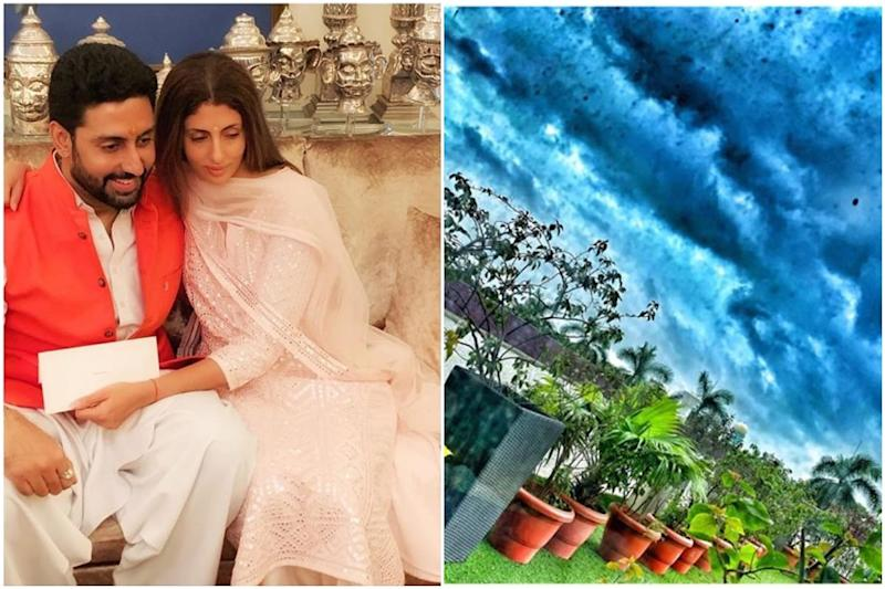 Abhishek Bachchan Posts Another Sky Pic from Hospital, Sister Shweta Asks Him to 'Hang in There'