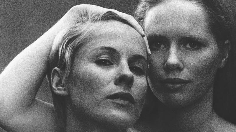 Still of Liv Ullman and Bibi Andersson from Persona