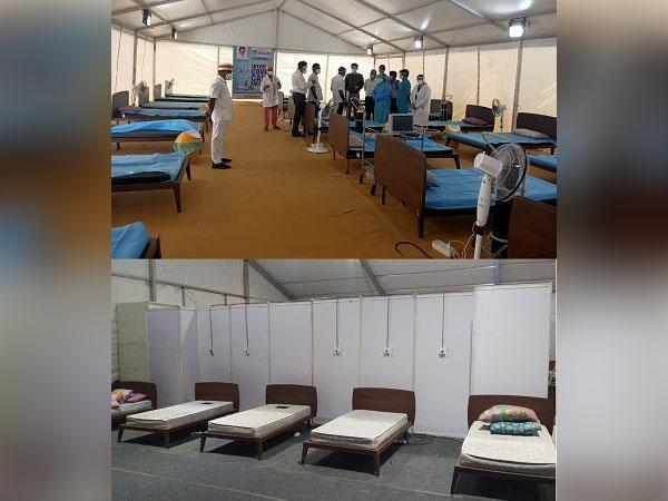 Honourable Health Minister for TN M. Subramanian Installs 100 Oxygenated Beds at TN Government Multi-Super Speciality Hospital (Omandurar GH)