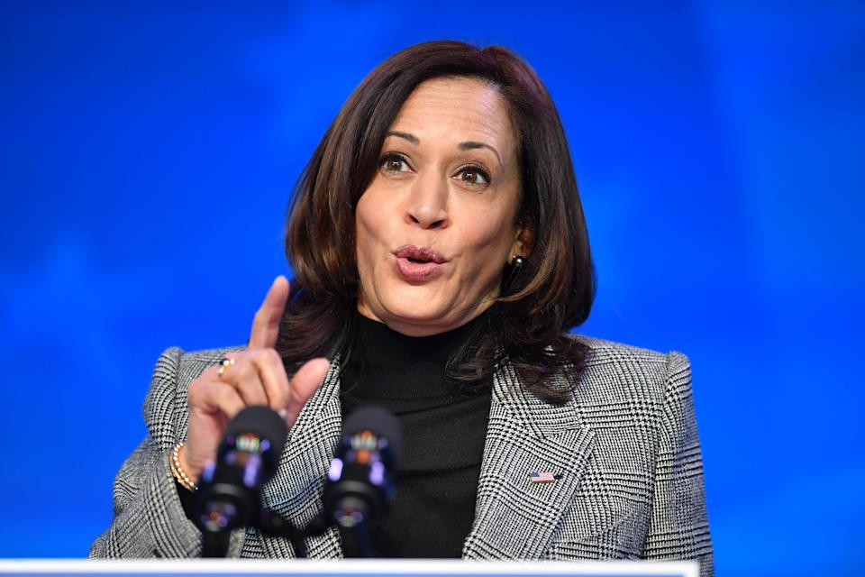 Kamala Harris is opening up about her career inspiration. (Photo: ANGELA WEISS / AFP)