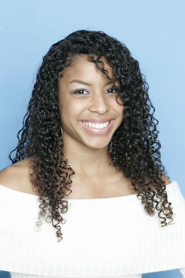 "Lisa Tucker from Anaheim, CA, is one of the contestants on Season 5 of ""American Idol."""