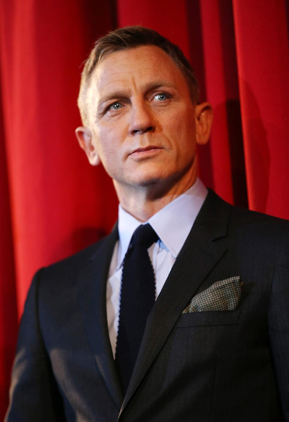BERLIN, GERMANY - OCTOBER 28:  Actor Daniel Craig attends the German premiere of the new James Bond movie 'Spectre' at CineStar on October 28, 2015 in Berlin, Germany.  (Photo by Sean Gallup/Getty Images for Sony Pictures)