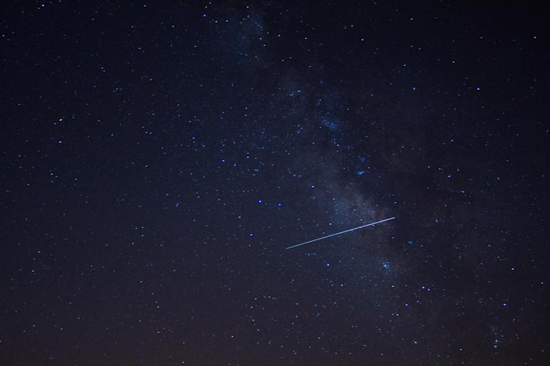 Meteor shower: Last year's spectacular Lyrid display (Islam Hassan/Flickr)