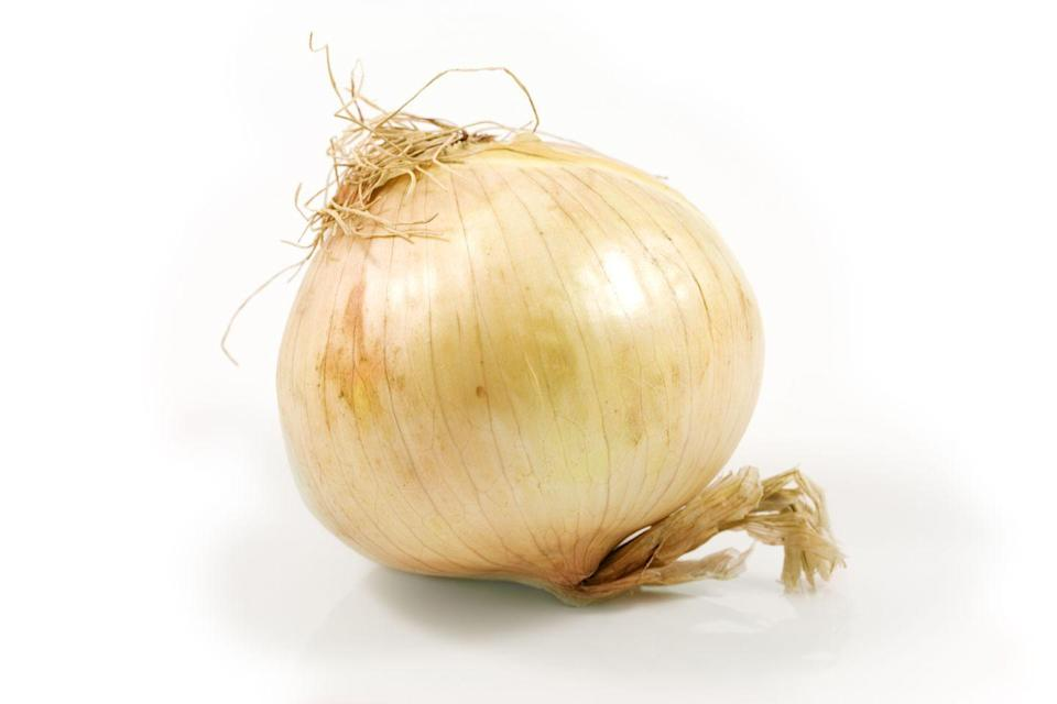 "<p><strong>State Vegetable: Vidalia Sweet Onion</strong></p><p>Georgia is known for peaches, but if you've ever snacked on a delicious bloomin' onion, you can thank the state for the delicious Vidalia Sweet Onion. This veggie was named after the town in Georgia where they were first grown, and much like Champagne only being called Champagne if it is from that region in France, <a href=""https://www.exploregeorgia.org/blog/10-things-you-didnt-know-about-vidalia-onions"" rel=""nofollow noopener"" target=""_blank"" data-ylk=""slk:only a select group of counties in the state"" class=""link rapid-noclick-resp"">only a select group of counties in the state </a>are allowed to officially call their onions by the Vidalia name. </p>"