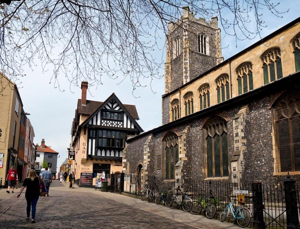 St John Maddermarket is just one of Norwich's many churches (Getty)