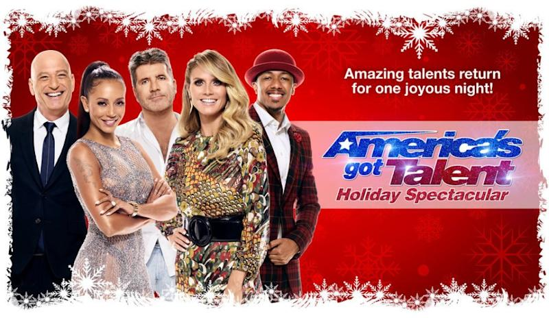 Americas Got Talent Christmas.Watch America S Got Talent Holiday Spectacular Don T Miss Grace