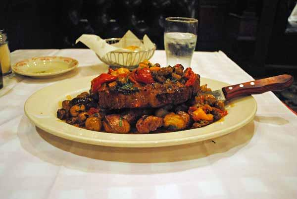 8. Prime New York Steak Contadina style -- Maggiano's Little Italy