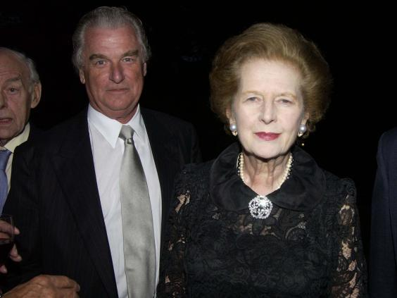 Bell and former prime minister Margaret Thatcher had a long and fruitful partnership (Rex)