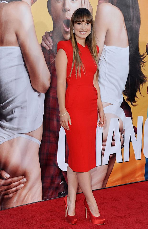"""<a href=""""http://movies.yahoo.com/movie/contributor/1808489542"""">Olivia Wilde</a> at the Los Angeles premiere of <a href=""""http://movies.yahoo.com/movie/1810155680/info"""">The Change-Up</a> on August 1, 2011."""
