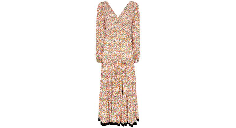 Rixo Brooke floral pattern maxi dress