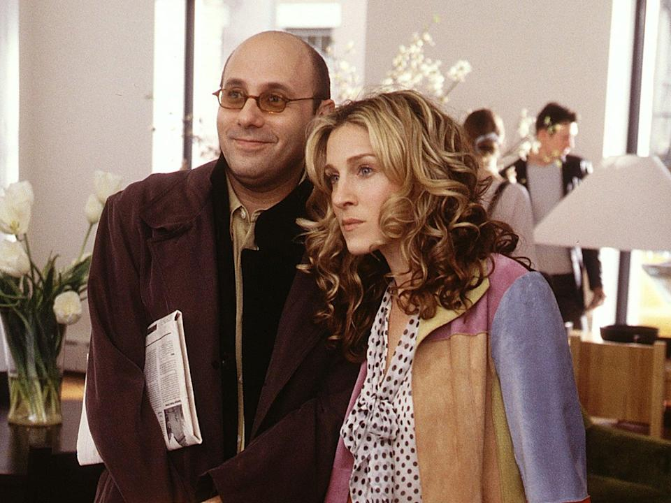 Willie Garson and Sarah Jessica Parker as Stanford and Carrie on 'Sex and the City' (Rex Features)