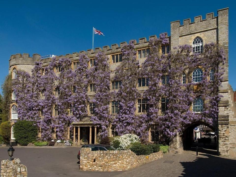 """<p>Housed in a grand, wisteria-covered building overlooking Taunton, <a href=""""https://go.redirectingat.com?id=127X1599956&url=https%3A%2F%2Fwww.booking.com%2Fhotel%2Fgb%2Fthe-castle-hotel.en-gb.html%2520%3Faid%3D2070936%26label%3Dprima-family-hotels-uk&sref=https%3A%2F%2Fwww.prima.co.uk%2Ftravel%2Fg37009633%2Ffamily-hotels-uk%2F"""" rel=""""nofollow noopener"""" target=""""_blank"""" data-ylk=""""slk:The Castle Hotel"""" class=""""link rapid-noclick-resp"""">The Castle Hotel</a> has been welcoming visitors to the West Country since the 12th century - so this family-run hotel knows exactly what it's doing. </p><p>The Castle is large, modern and perfect for parties and big families celebrating special occasions. Kids and teens will love the modern and bustling brasserie, with its excitable atmosphere at breakfast. The ramp, stylised handrails and ground-floor street entrance make it accessible, too. </p><p>You can find spacious family rooms connected by a hallway or interconnecting door, to give teens a bit more independence, and the hotel is happy to take well-behaved dogs and cats with pre-arranged booking.</p><p><a href=""""https://www.primaholidays.co.uk/offers/somerset-taunton-the-castle-hotel"""" rel=""""nofollow noopener"""" target=""""_blank"""" data-ylk=""""slk:Read our review of The Castle Hotel"""" class=""""link rapid-noclick-resp"""">Read our review of The Castle Hotel</a></p><p><a class=""""link rapid-noclick-resp"""" href=""""https://go.redirectingat.com?id=127X1599956&url=https%3A%2F%2Fwww.booking.com%2Fhotel%2Fgb%2Fthe-castle-hotel.en-gb.html%2520%3Faid%3D2070936%26label%3Dprima-family-hotels-uk&sref=https%3A%2F%2Fwww.prima.co.uk%2Ftravel%2Fg37009633%2Ffamily-hotels-uk%2F"""" rel=""""nofollow noopener"""" target=""""_blank"""" data-ylk=""""slk:CHECK AVAILABILITY"""">CHECK AVAILABILITY</a></p>"""