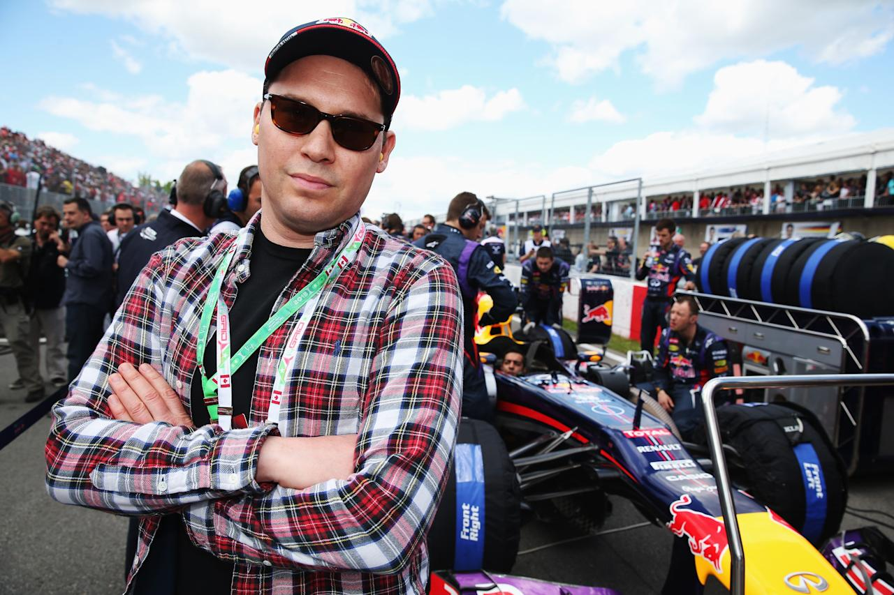MONTREAL, QC - JUNE 09: Director Bryan Singer is seen on the grid before the Canadian Formula One Grand Prix at the Circuit Gilles Villeneuve on June 9, 2013 in Montreal, Canada. (Photo by Mark Thompson/Getty Images)
