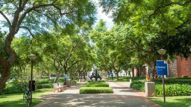 The University of Pretoria in South Africa is pictured.