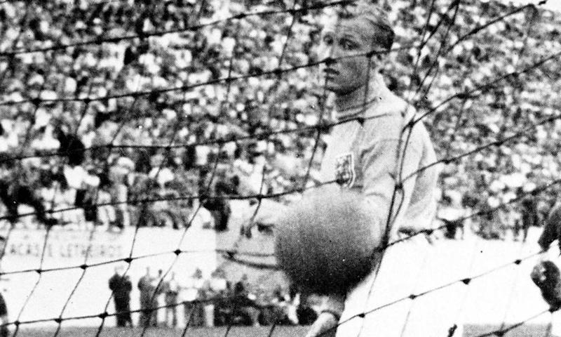 Bert Williams of Wolves and England