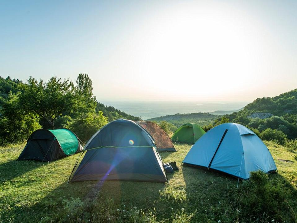 Camping could restart from 12 April (Getty Images/iStockphoto)