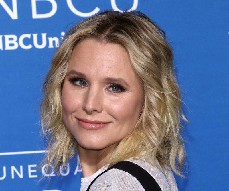 Kristen Bell attends the NBCUniversal Upfronts in 2017.