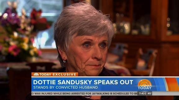 TV interview with Jerry Sandusky's wife an insult to his victims
